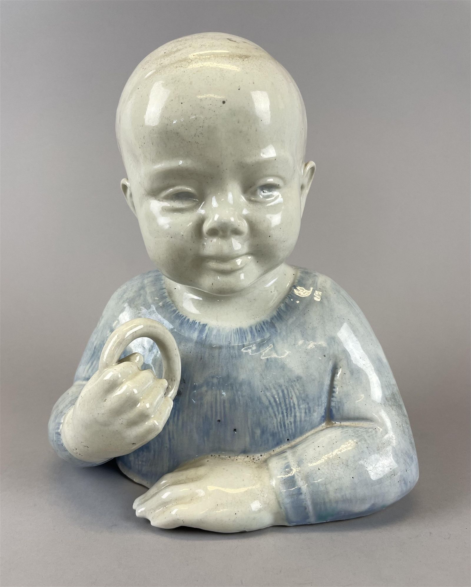 Rare Waylande Gregory Bust of a Child from Cranbrook