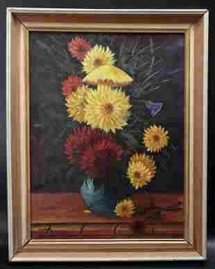 Post-Impressionist Style of Mo�se Kisling Painting