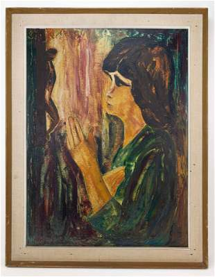 Expressionist Style of Chaim Soutine Painting