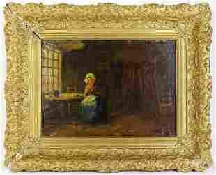 Dutch Jozef Israëls (1824-1911) Painting