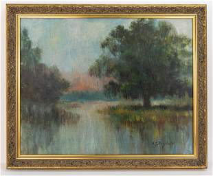 Landscape In the Style of Alexander John Drysdale