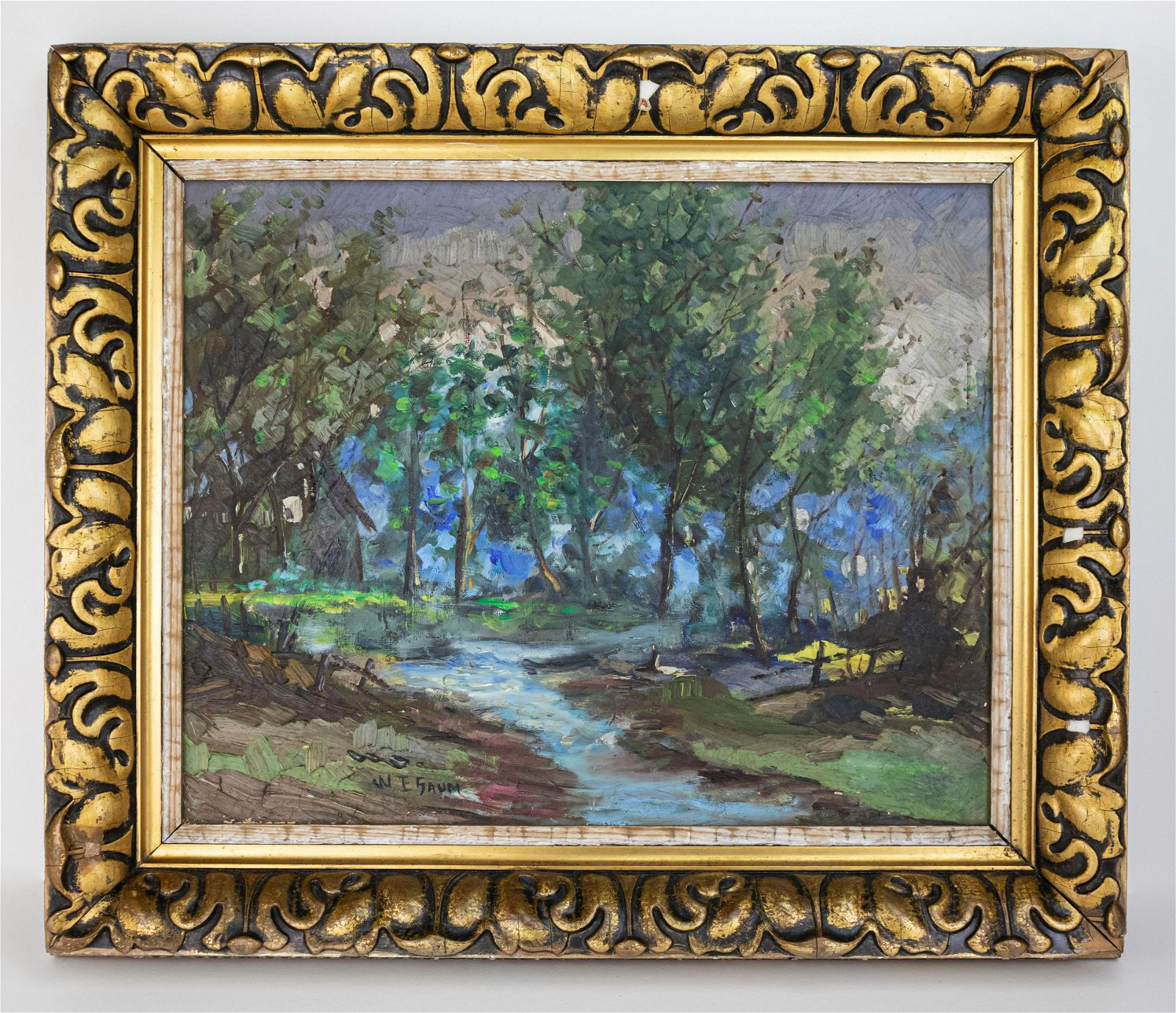 Walter Emerson Baum Painting In the Style of