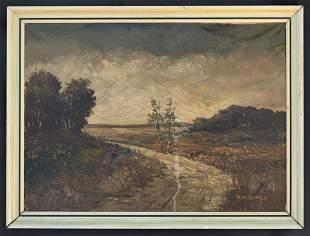 Henry Ward Ranger Landscape Oil Painting