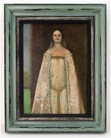 Austrian Symbolist Gustav Klimt Painting In Style Of