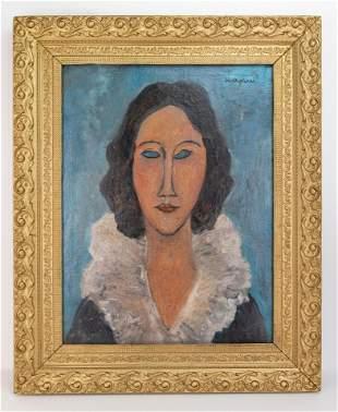 Expressionist Style of Amedeo Modigliani