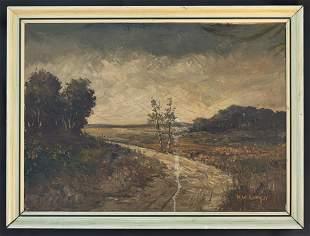 Henry Ward Ranger Landscape Oil Landscape Painting