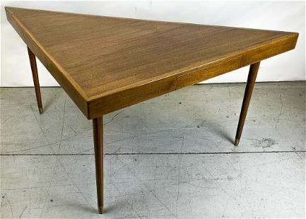 Harvey Probber Triagle Desk Console Table