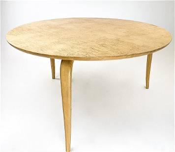 Medium Bruno Mathsson by Dux Round Coffee Table