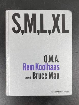 2nd Edition S,M,L,XL OMA Rem Koolhaas and Bruce Mau