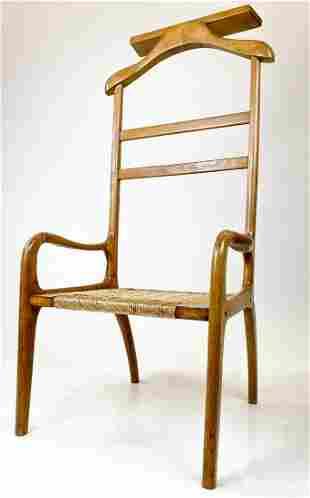 Amcrest Mid Century Danish Valet Chair