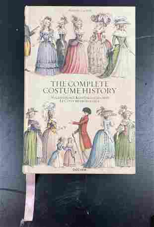 The Complete Costume History Oversized Book by Auguste