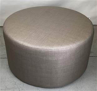 """36"""" Round Upholstered Ottoman"""
