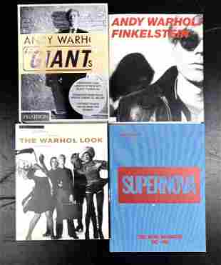 Four Books on Andy Warhol