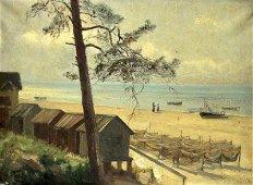 YULI YULIEVICH KLEVER 1850-1924 Gulf of Finland