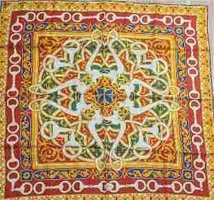 silk scarf Gucci 100% silk scarf