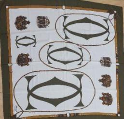 silk scarf Cartier 100% silk scarf