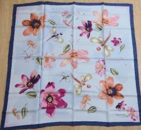 silk scarf Lady Carvella 100% silk scarf