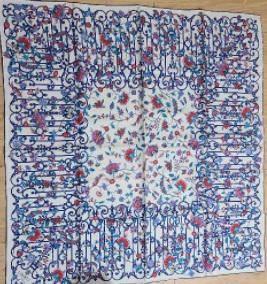 silk scarf Liberty 100% silk scarf