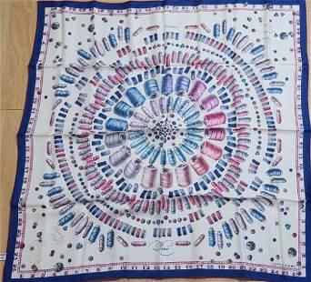 silk scarf Longchamp 100%