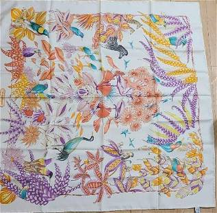 silk scarf Ferragamo