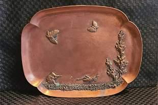 Gorham mixed metals tray