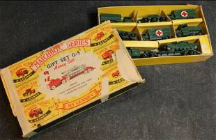 1960-1961 Lesney Matchbox Series Army G-5 Gift Set in