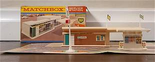 1965 Matchbox Lensey superfast BP Service Station with