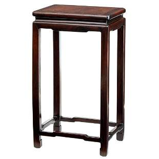 Chinese Hardwood Table Stand Qing