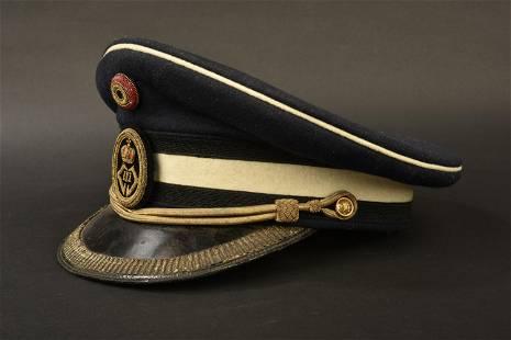 casquette d'officier belge. Belgian officer cap