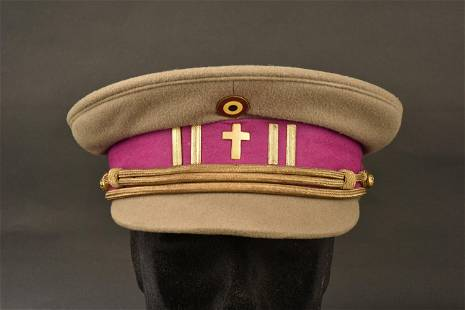 Belgian General Chaplain Cap