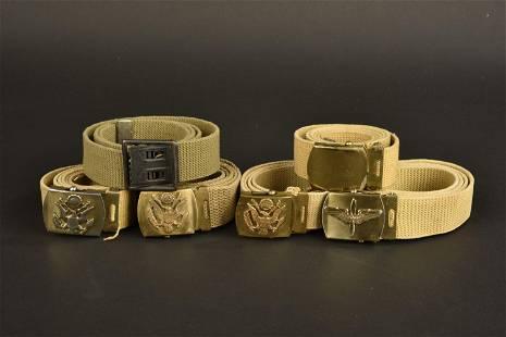 Ceintures US. Personalized US belt