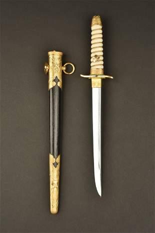 Dague de la marine japonaise. Japanese navy dagger