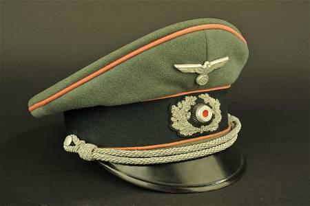 Casquette officier panzer. Panzer Officer cap.