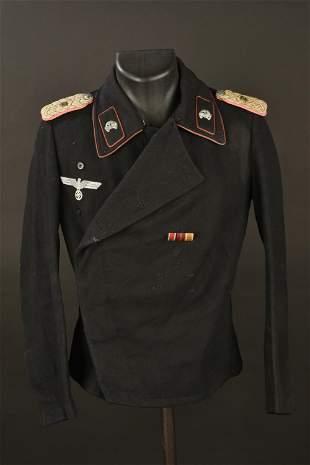 Blouson Panzer de Major de la Heer. Heer Major Panzer