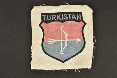 Insigne des volontaires du Turkistan. Turkistan