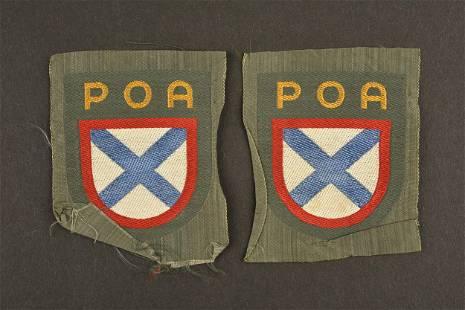 Insignes des volontaires POA. POA Volunteer insignia