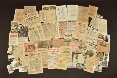 Ensemble de documents allemand. German document set