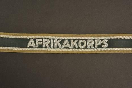 Bande de bras Afrikakorps. Afrikakorps Armband