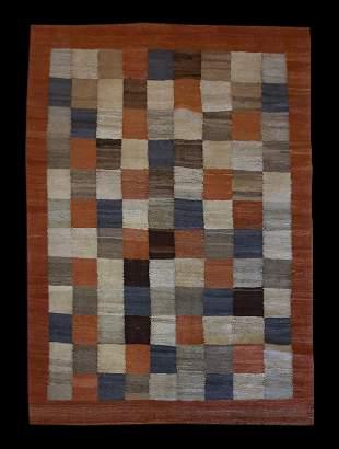 New 6' 7'' x 4' 10'' Afghan Gabbeh Kilim Area Rug
