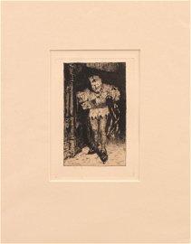 William Merritt Chase (1849-1916) The Jester