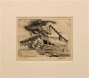 LO Griffith (1875-1956) The Landmark