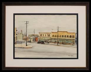 Alvin LaToor (1908-1958) Los Angeles
