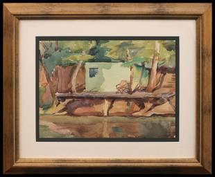 Robert Selby (1909-1997) River Deck