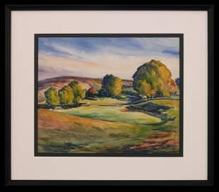 Arthur Sprunger (1897-1972) Vivid Summer