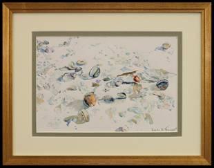 Leah Traugott (1924-2018) Beach Gems