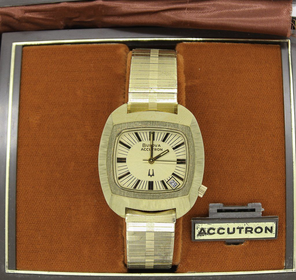 10k RGP Bulova Accutron Watch