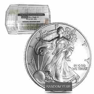 Roll of 20 - 1 oz Silver American Eagle $1 Coin