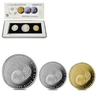 2009 Israel Gold/Silver FIFA World Cup South Africa