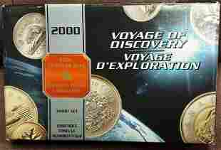 Authentic 2000 Canada 8 Coin Silver PROOF Set Voyage of