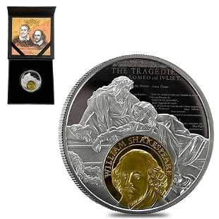 2016 Cameroon 17.50 gram Silver Cervantes and